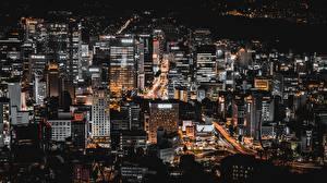 Bilder Seoul Gebäude Südkorea Megalopolis Nacht Städte