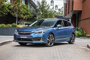 Sfondi desktop Subaru Celeste colore 2020 Impreza 2.0i-S 5-door Auto