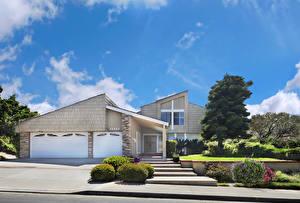Bakgrunnsbilder Amerika Bygning California Herregård Design Garasje Trappen Busker Dana Point en by