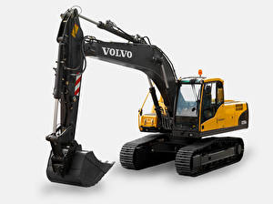 Fotos Volvo Technik Bagger Gelb Schwarz EC235C NL