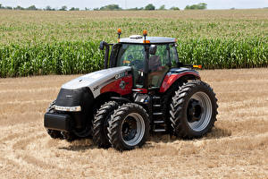Bilder Landwirtschaftlichen Maschinen Felder Traktor 2012 Case IH Magnum 340 25th Anniversary