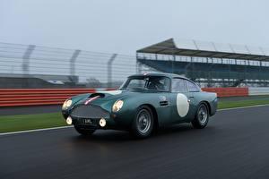 Bakgrunnsbilder Aston Martin Bevegelse DB4 GT Continuation, Sports car