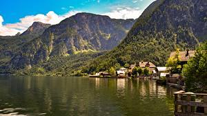 Fotos & Bilder Österreich Gebirge See Landschaftsfotografie Bad Goisern, Gmunden Städte