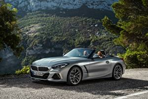 Desktop wallpapers BMW BMW Z4 Roadster Silver color Metallic Z4, M40i, Z4, 2019, G29 auto