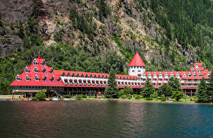 Image Canada Coast Houses Hotel Crag Spruce Three Valley Lake Chateau Revelstoke Cities
