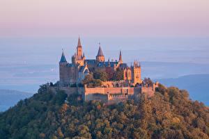 Fotos Burg Deutschland Hügel  Städte