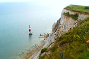 Images Coast Lighthouses England Crag English Channel, East Sussex, Beachy Head Lighthouse