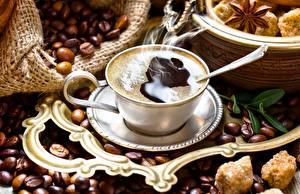 Picture Coffee Grain Cup Vapor