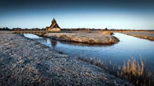 Hintergrundbilder England Morgen Kirche Reif niederschlag Fairfield Church, Northwood Natur