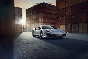 Pictures Ferrari Grey Metallic Coupe 488 Pista