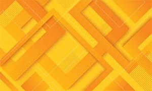 桌面壁纸,,幾何,圖案,质感,橙色,黄色,3D图形