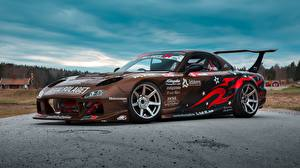 Pictures Mazda Tuning Brown RX-7