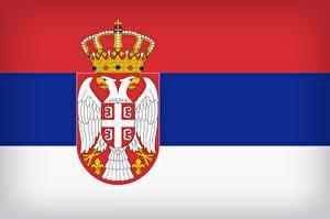 Desktop wallpapers Serbia Flag