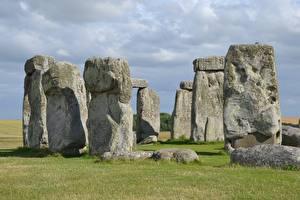 Picture Stone Monuments England Stonehenge, Wiltshire Nature