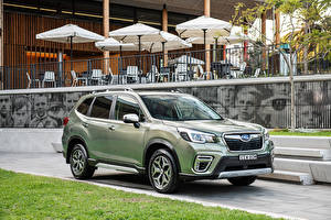 Image Subaru CUV Green 2020 Forester Hybrid L Cars