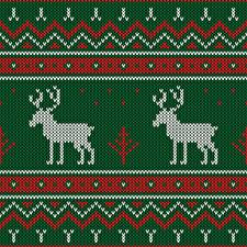 Photo Texture Deer New year Sweater