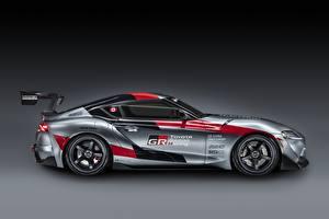 Fotos Toyota Coupe Graue Seitlich GR Supra Track Concept, 2020