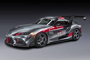 Bilder Toyota Grau Coupe GR Supra Track Concept, 2020