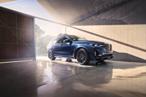 Picture BMW Crossover Blue 2020 Alpina XB7 Worldwide Cars