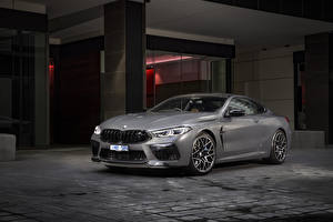 Обои BMW Купе Серая 2020 M8 Competition Coupé машина
