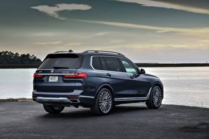 Pictures BMW CUV Metallic Back view X7, G07 Cars