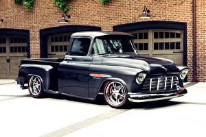 Wallpapers Chevrolet Tuning Pickup Truck 3100 Cars