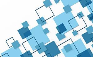Papel de Parede Desktop Geometria Textura Azul Celeste Fundo branco