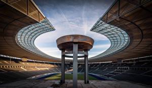 Picture Germany Berlin Stadium Olympiastadion Cities