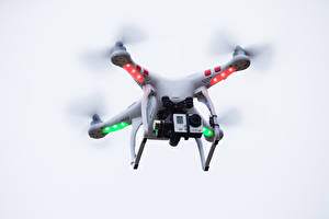 Pictures UAV Quadcopter Video camera Flight