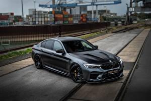 Sfondi desktop BMW Nero M5 Manhart V8 F90 2019 MH5 Auto