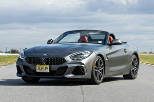 Photo BMW Gray Front Roadster Asphalt Z4 M40i 2019-2020 automobile