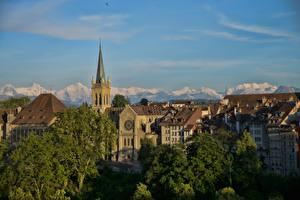 Фотография Берн Швейцария Здания Башня