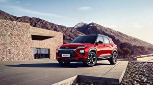 Papel de Parede Desktop Chevrolet Vermelho 2019-20 TrailBlazer RS automóveis