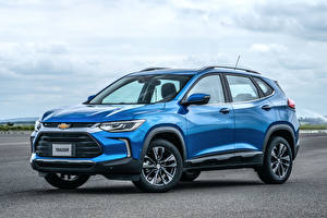 Image Chevrolet Light Blue Metallic 2020 Tracker Premier auto