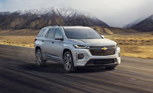 Fotos Chevrolet Graue 2021 Traverse High Country automobil