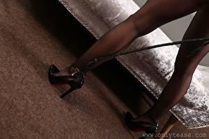 Hintergrundbilder Großansicht Bein Stöckelschuh Strumpfhose junge frau