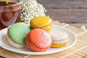 Hintergrundbilder Kekse Macaron
