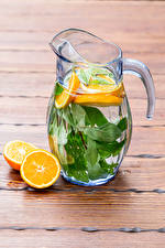 Images Drink Orange fruit Lemonade Wood planks Jug container Food