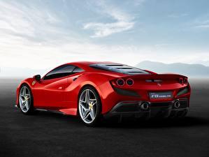Fotos Ferrari Hinten Rot F8 Tributo auto