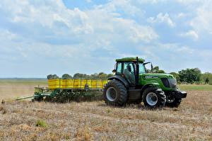 Hintergrundbilder Acker Landwirtschaftlichen Maschinen Traktor 2015-20 Agrale 7215