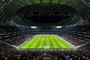 Bilder Fußball England Stadion London Tottenham Hotspur Stadium, New White Hart Lane