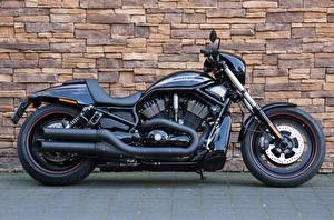 Picture Harley-Davidson Wall Black Side VRSCDX, Night Rod