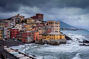 Fotos & Bilder Italien Küste Haus Boccadasse Städte
