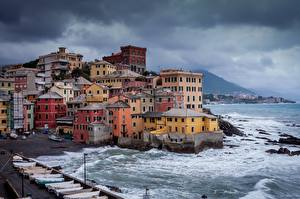 Photo Italy Coast Houses Boccadasse