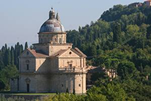 Fotos Italien Toskana Kirchengebäude Church Madonna di San Biagio