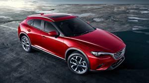 Pictures Mazda Red CUV CX-4 auto