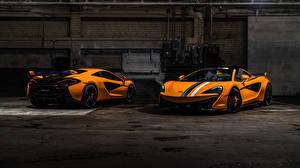 Images McLaren Two Orange Roadster 570s auto