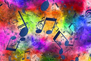 Fotos & Bilder Noten Textur Musik