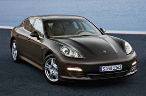 Images Porsche Brown Metallic Panamera S, 970 Cars