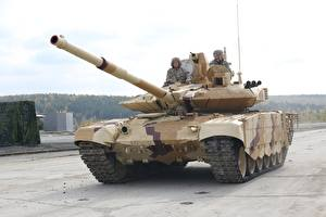 Pictures T-90 Tanks Military disguise T-90M military